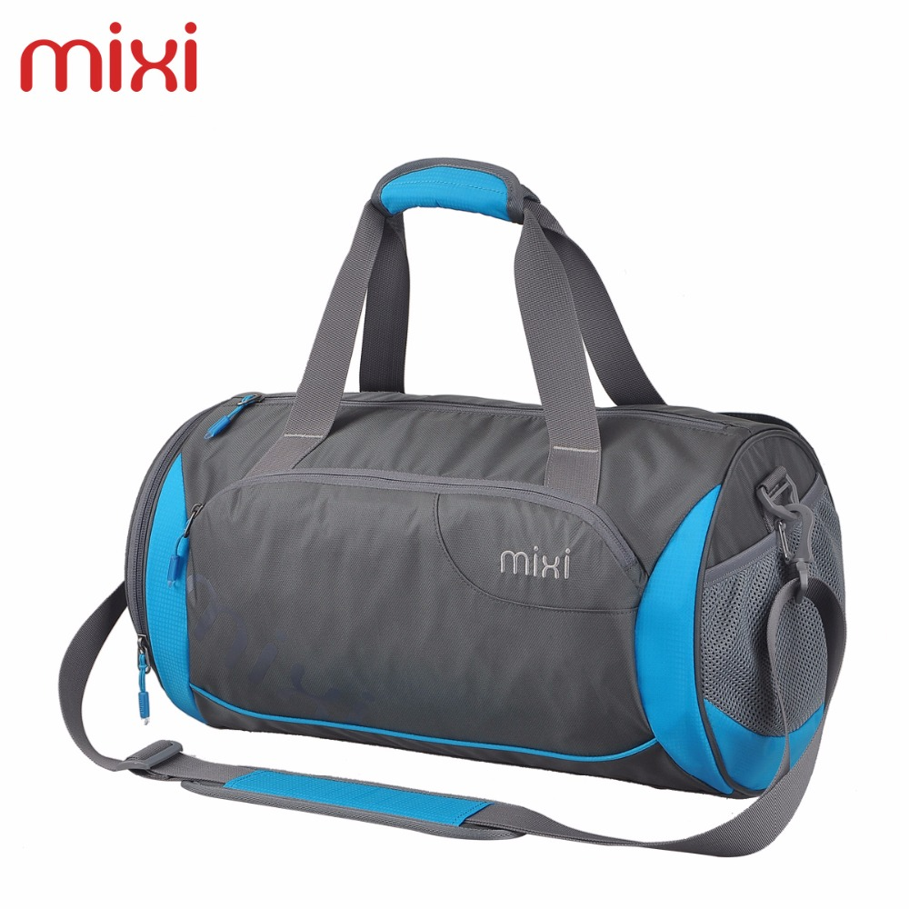 Mixi 2016 Fashion Waterproof Sport Gym Bags Travel Bag for Men Durable Portable Single Shoulder Bag(China (Mainland))