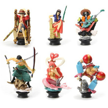 One Piece Chess 4 New Japanese Anime Collection Pvc Figure Christmas Gifts Toy - KISSWAWA Offical Store store
