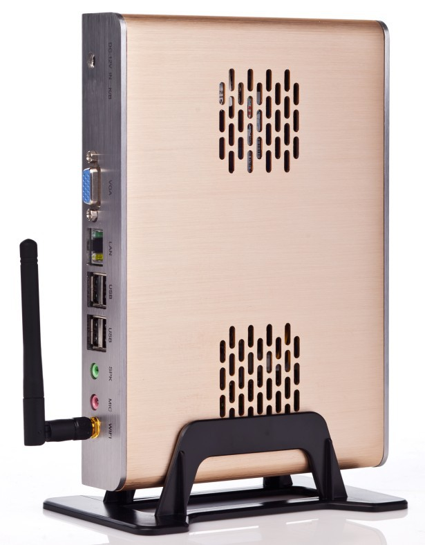 2013 Latest Mini Computer with WIFI Mini PC with CPU Intel D525 2GB RAM Win XPE embedded