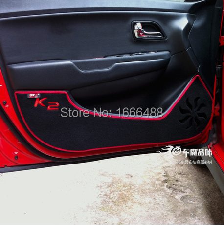High quality! 2011-14 KIA K2 car door Protection pad Car styling ,Professional supplies  -  Leo-po store
