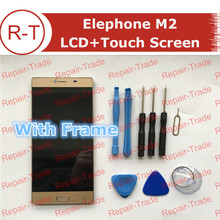 Buy Elephone M2 LCD Screen High FHD 1920X1080 lcd display+Touch Panel Frame Replacement 5.5inch Elephone M2 Gold for $39.99 in AliExpress store