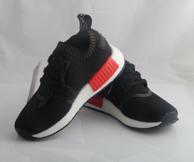 2016 New Arrivals NMD Top Quality Men and Women black gray Red SZ36-44 free shipping(China (Mainland))