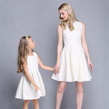 High-grade mother & kids clothing Mother Daughter Dresses women girl dresses Mother And Daughter Clothes Family Matching Outfits