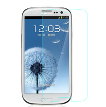 20 pcs For Samsung Galaxy I9300 S3 0.3mm Tempered Glass Film Neo I9301 S3 Neo+ i9300i SIII Duos Anti-Explosion 2.5D Screen Film