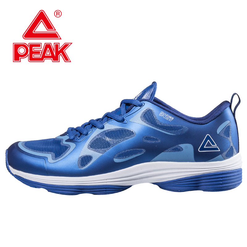 Фотография PEAK Outdoor Fashion Mix Color Sneakers Sport Shoes Damping Slippery Wear-resisting Sport Trainers Running Shoes