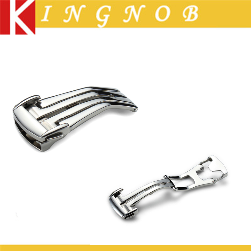 316L Stainless Steel Polished Deployment Clasp buckle 16mm 18mm 20mm For OMEGA watches Free shipping(China (Mainland))