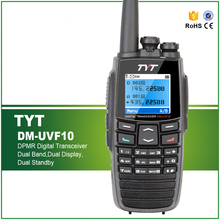 TYT DM-UVF10 256CH Digital Walkie Talkie DPMR Digital Radio DMUVF10 Dual Band 136-174/400-470MHz Radio Ham Transceiver
