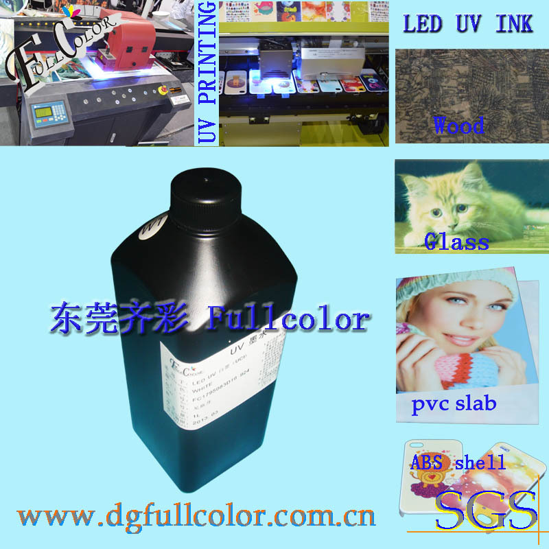 Free shipping  White color LED UV curable ink for Epson printer head  UV printing ink white ink 2litre a lot<br><br>Aliexpress