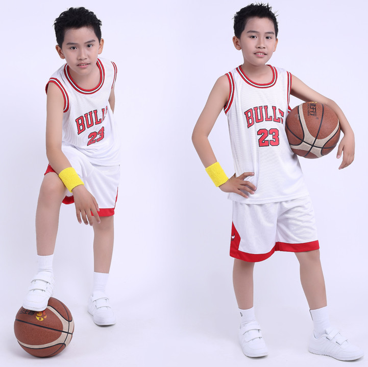 Free shipping 2016 Kids/Children Summer NBA Basketball Set Training Tracksuit Clothes jersey jor--dan #23 basketball jerseys(China (Mainland))