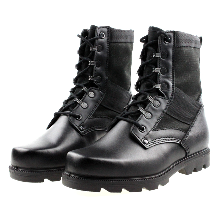Single high boots hiking boots Men cowhide martin boots with a single outdoor boots free shipping S0729(China (Mainland))