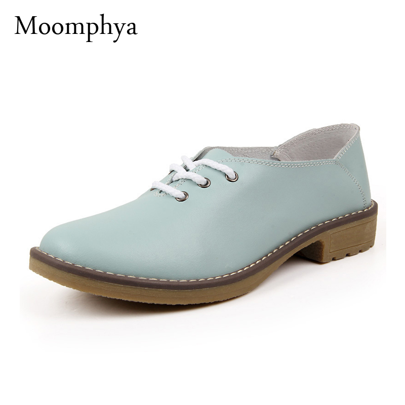 Genuine leather Oxford shoes for women flats new 2017 Fashion women shoes moccasins sapatos femininos sapatilhas zapatos mujer