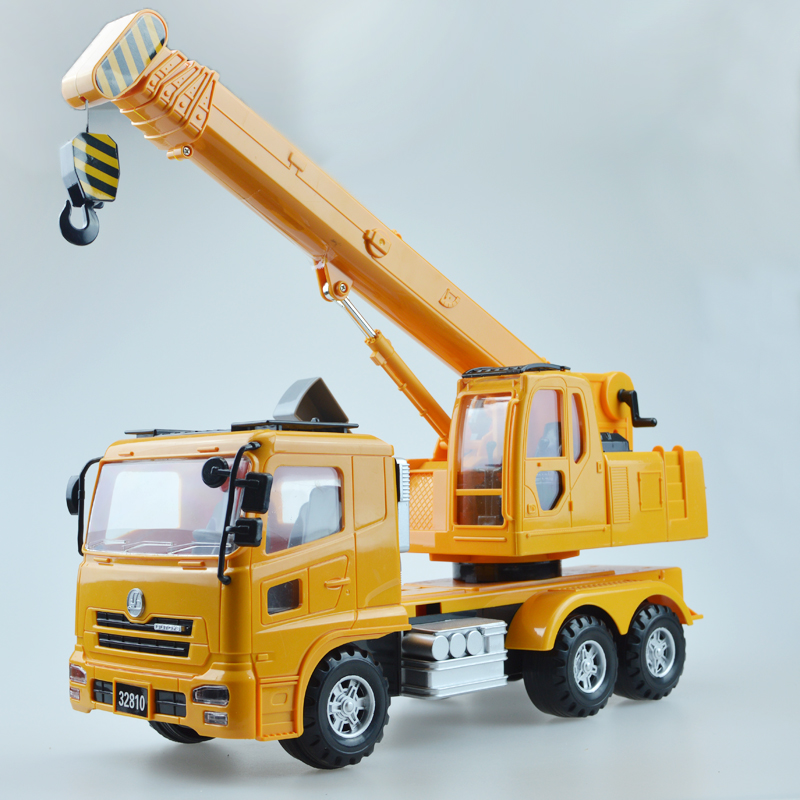 Christmas gift child Large crane inertia engineering truck boy toy car set<br><br>Aliexpress