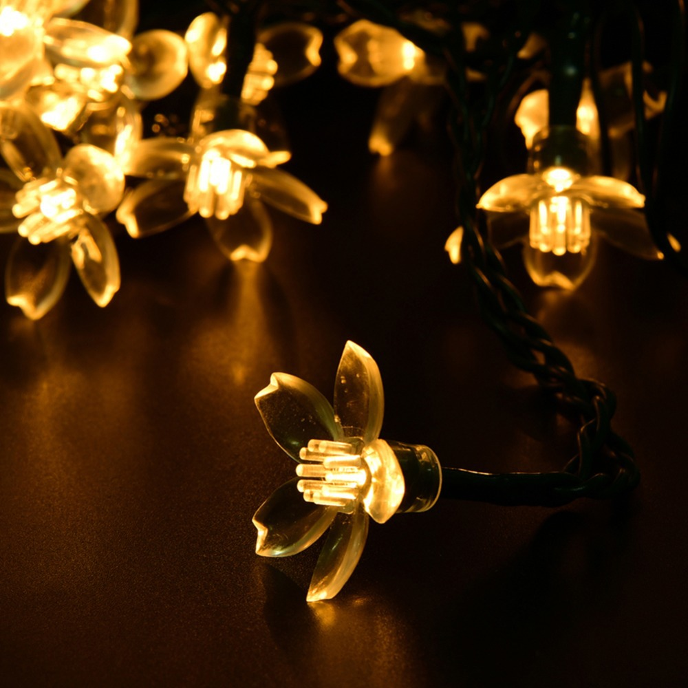 Romantic 20 LED Solar Fairy Lights Ideal for Christmas Wedding Party Lighting Strings<br><br>Aliexpress