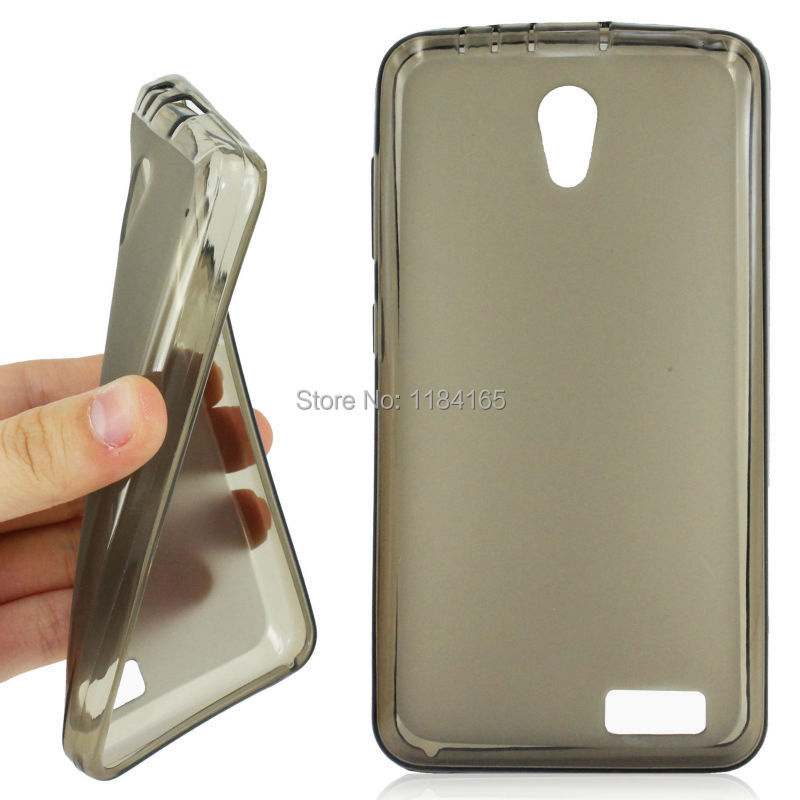 Ordinary Antiskid Soft Gel Skin Pudding TPU Case for Lenovo A319 Phone Back Cover Free Shipping(China (Mainland))