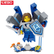 3 Shield Nexo Knights Future Robin Minifigures Building Blocks Figures Model Bricks Kid Toy Gift Compatible Nexus Legoelieds - LEBO TOY CITY store
