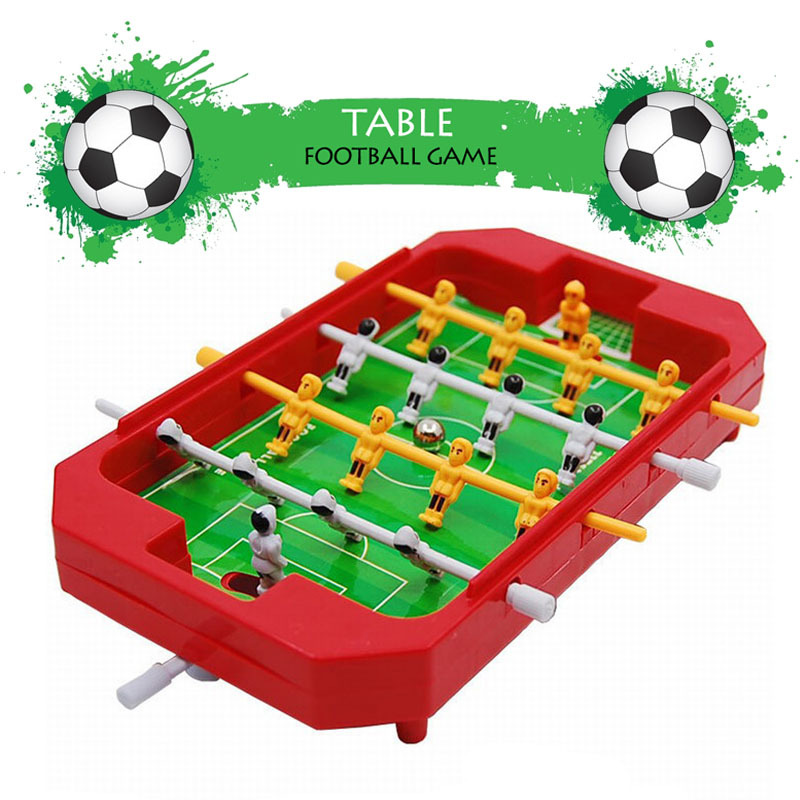 Table football game Desktop Foosball board Tabletop Soccer toy Learning & Educational Christmas Gift for Family and Children(China (Mainland))