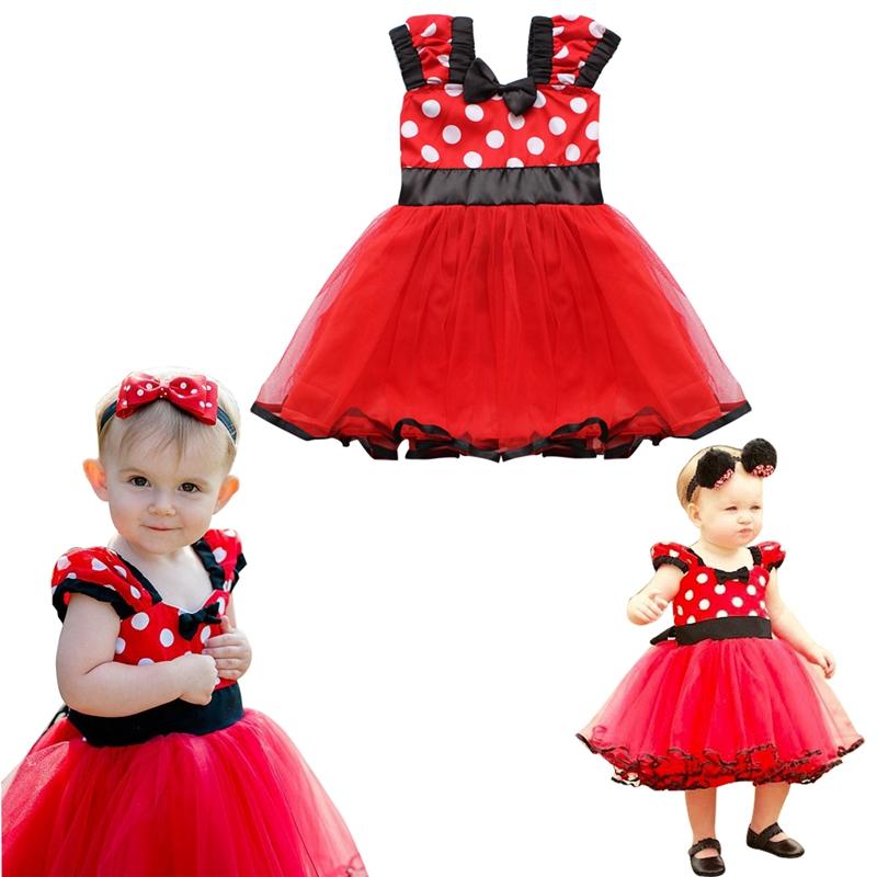 Newborn Infant Baby Girls flower Dress Birthday Gift Party