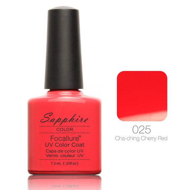 80 цвет бренда сапфир лак для ногтей 100% органический длительное ногтей 7.3 мл помочь ...