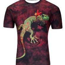 2019 Gota de Água Móvel Groot 3D Imprimir Mangas Curtas camisa Dos Homens t Harajuku Verão camiseta Tops Plus Size camisa Dos Homens SBKENI(China)