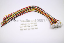 20 SETS Mini Micro JST PH 2.0 Conector de $ Number Pines enchufe con Cables 100 MM 10 CM
