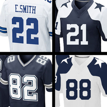 Wholesale Price Mens #88 Dez Bryant #21 Joseph Randle #82 Jason Witten #9 Tony Romo #22 Emmitt Smith jersey 100% Stitched Logos(China (Mainland))