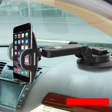 Car Phone Holder Gps Accessories Suction Cup Dashboard Windshield Mobile Cell Retractable Mount Stand