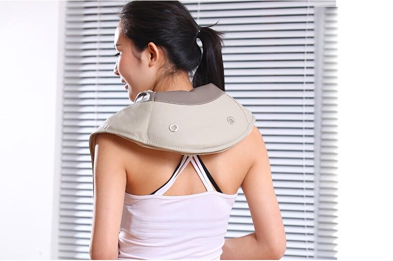 Health Care Electric Massage Belt,electronical Massager 2016 New Slimming Kneading Shiatsu Neck Back Leg Massager Machine 10060 cheap
