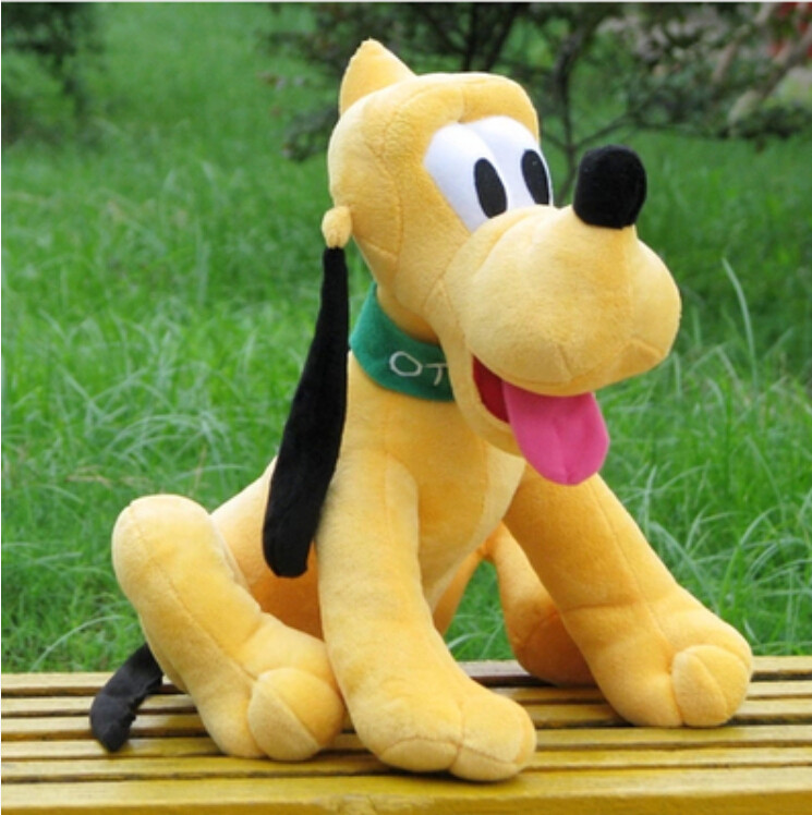 30cm original Pluto dog plush toy goofy Mickey Minnie Donald duck friend soft dolls toys for children kids gift(China (Mainland))
