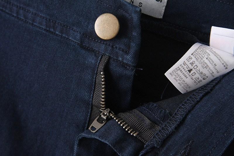 Fashion Jeans Women Pencil Pants High Waist Sexy Vintage Slim Elastic Skinny Denim Clothing Trousers Plus Size Five Colors K095