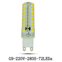 Buy 5xdimmable G9 Led Lamp Bulb 220V 9W 2835 SMD LED Lighting Lights replace Halogen Spotlight Chandelier Light Lampada Led G9 Bulb for $10.70 in AliExpress store