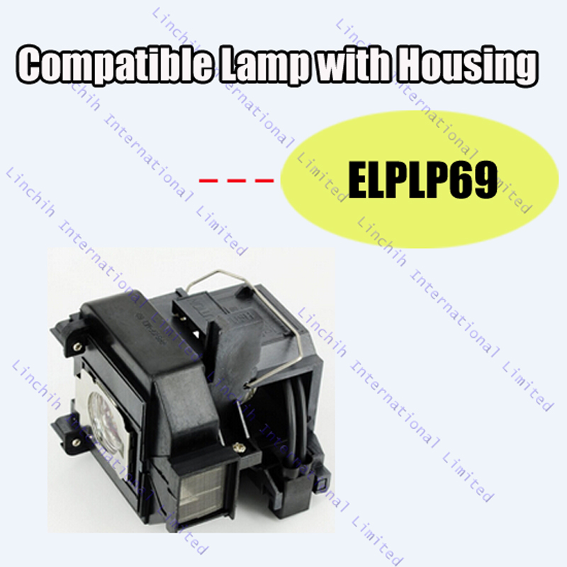 ELPLP69 / V13H010L69 / for EH-TW8000 ; EH-TW9000 ; HC5010 ; HC5010e / Compatible projector lamp with housing<br><br>Aliexpress