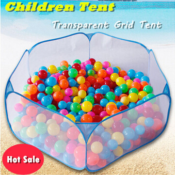 Free shipping Kids Play Game House tent Pool Children Tent Ocean Ball Pool baby educational Toys Outdoor Fun & Sports Lawn Tent(China (Mainland))