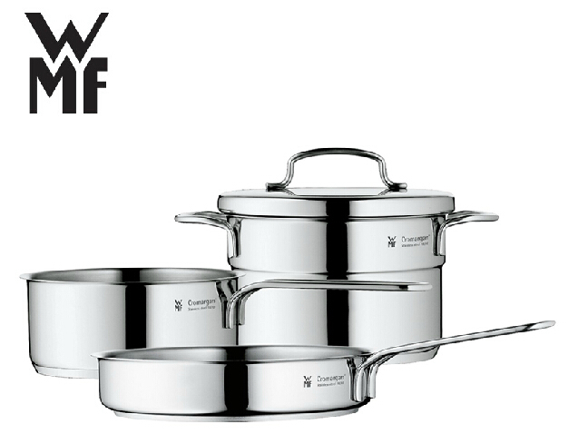 buy free shipping wmf mini stainless steel cookware 3 piece set casseroles. Black Bedroom Furniture Sets. Home Design Ideas