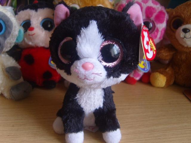 Номера шапочка боос коллекция большие глаза плюшевые игрушки куклы шапочка 6 дюймов черная кошка