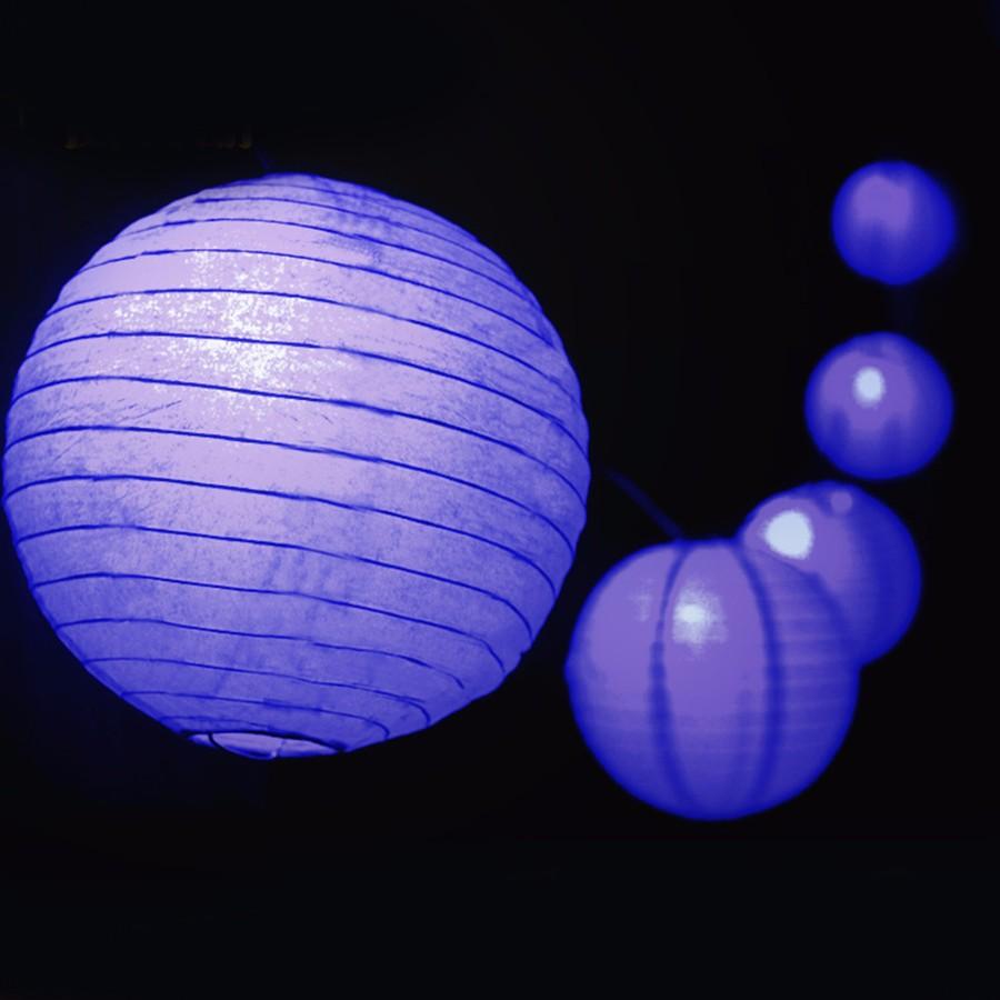 Kitop Outdoor Fairy Lantern Solar String Lights 5M 20 leds, 6M 30leds Christmas Globe Lights for home garden decoration