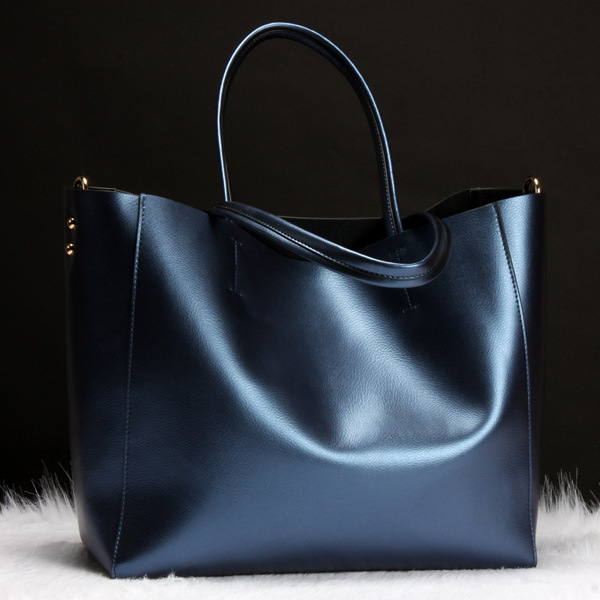 2016 Europe and the United States new shoulder bag leather handbag import ladies leather bag handbag