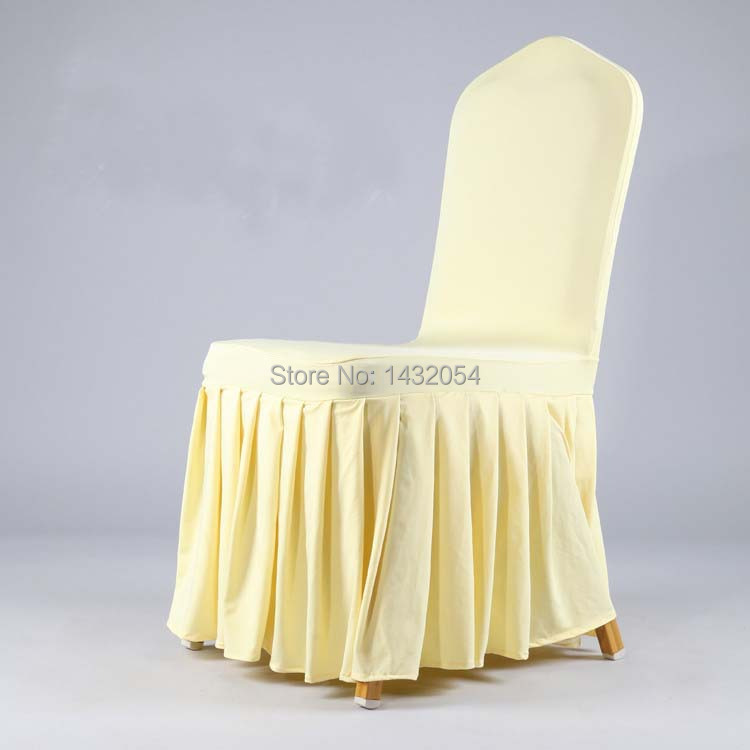Hot Universal Polyester Wedding Chair Covers for Weddings