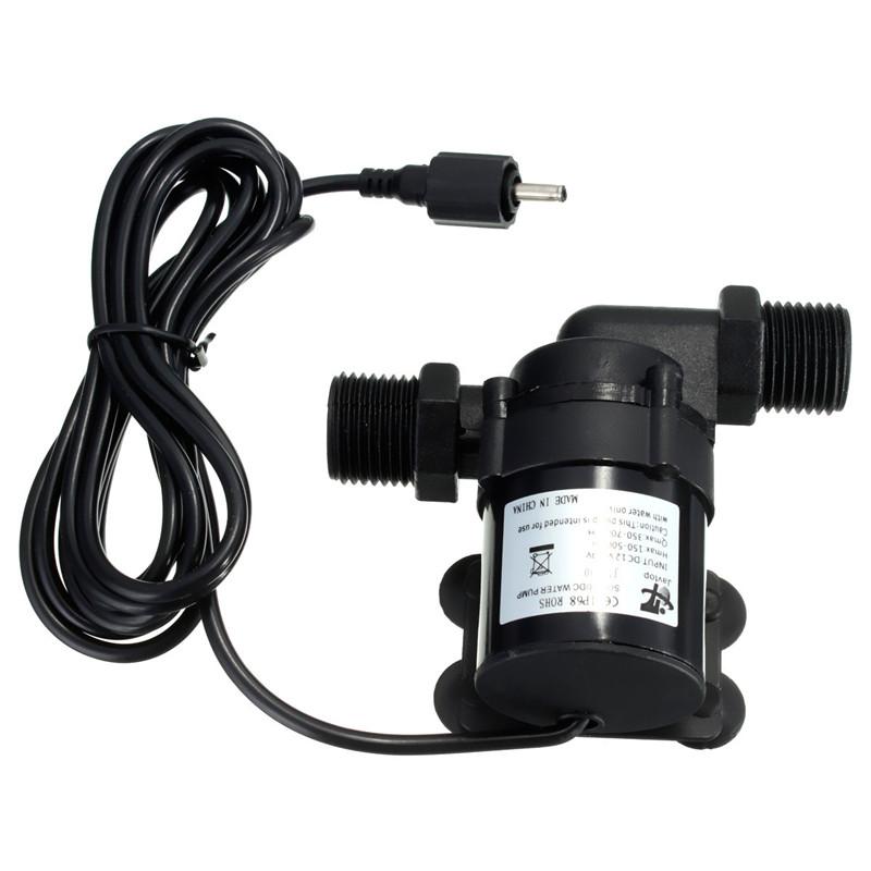 Solar Metal DC 12V 24V Hot Water Circulation Pump Brushless Motor Water Pump 700L/H(China (Mainland))