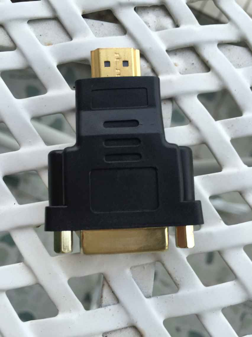 Hot Sale 2014 New Arrival 1Pcs/lot DVI 24+5 Female To HDMI Male Gold Converter Adapter #656(China (Mainland))