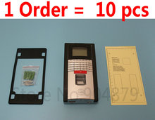 10 pcs/Lot  Biometric Fingerprint Access Control Fingerprint+EM ID Card +TCP/IP + Software Controller