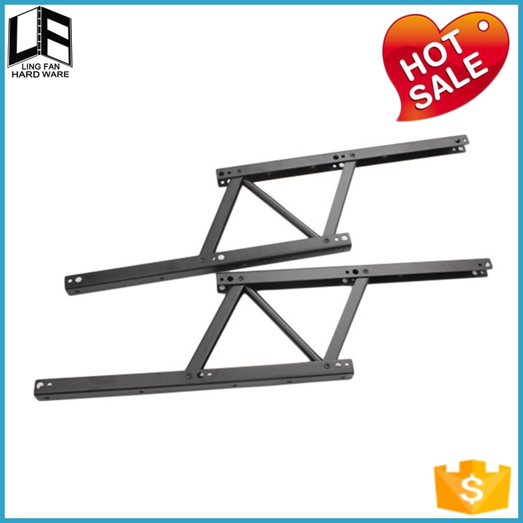 foshan metal lifting top coffee table hardware,coffee table lift hinge,jump dining table mechanism(China (Mainland))