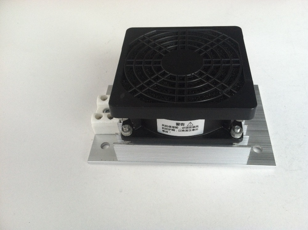 PTC heater with fan,100W 120v/230v for water fountains dehumidification(China (Mainland))