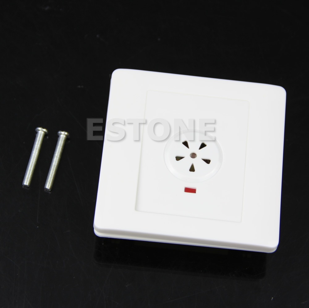 F85 Free Shipping 2-Wire System Sound Motion PIR Sensor Light Wall Mount Control Touch Switch(China (Mainland))