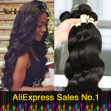3 Bundles Queen Hair Products Brazilian Body Wave 7A Grade Brazilian Virgin Hair Body Wave Unprocessed Human Hair Weave 100g/Pcs(China (Mainland))