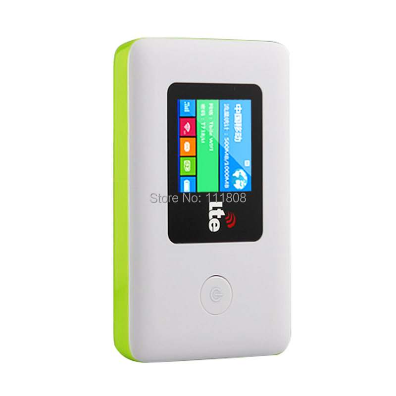 New 100Mbps GSM 4G Wifi Router LTE Mifi Wireless Modem Dongle Mobile Wifi With Sim Card Slot 2000mAh Battery Global UnlockLR113D(China (Mainland))