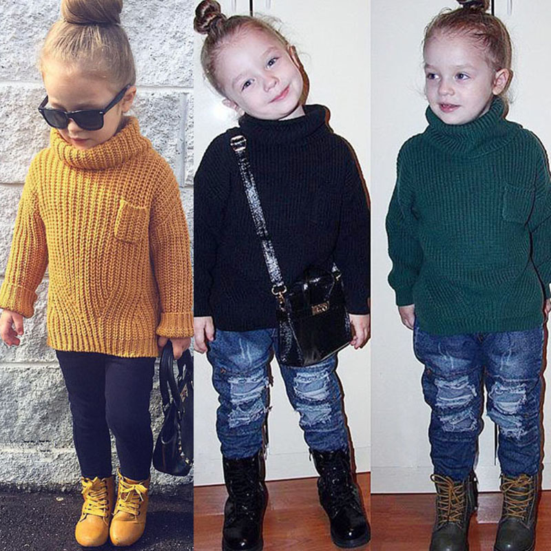 Pleasing Compare Prices On High Neck Girl Sweater Kids Online Shopping Buy Easy Diy Christmas Decorations Tissureus