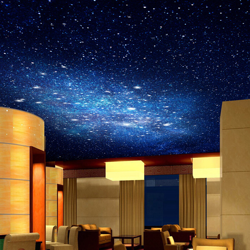 Image gallery night sky ceiling painting for Ceiling sky mural