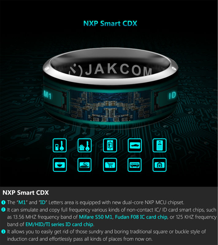 Jakcom Smart Ring R3 Hot Sale In Radio As Phone Flashlight Digital Radio Radio Rds