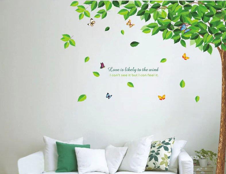 Art mural living room poster bedroom bathroom home decor mural china - Popular Garden Wall Stickers Buy Cheap Garden Wall