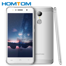 Buy Fingerprint Smartphone Original HOMTOM HT37 Android 6.0 MTK6580 Quad Core 2GB RAM 16GB ROM 5.0 Inch 1280x720 Mobile Phone for $79.99 in AliExpress store